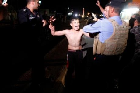 ВИраке схвачен 11-летний парень сшахидским поясом