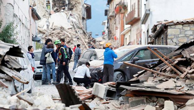 Землетрясение вИталии: экономический вред превысил $1 млрд