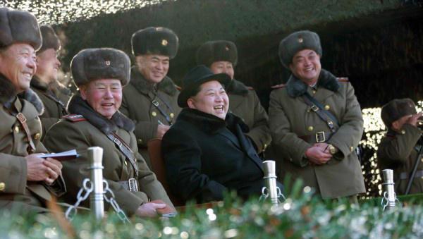 США иЮжная Корея провоцируют КНДР начать вооруженное противоборство