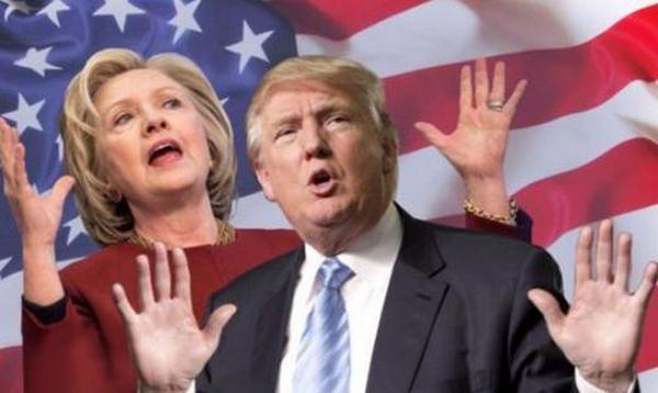 Опрос: Отставание Трампа отКлинтон уменьшилось до5%