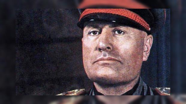 Итальянский диктатор Бенито Муссолини оставил письмо будущим поколениям