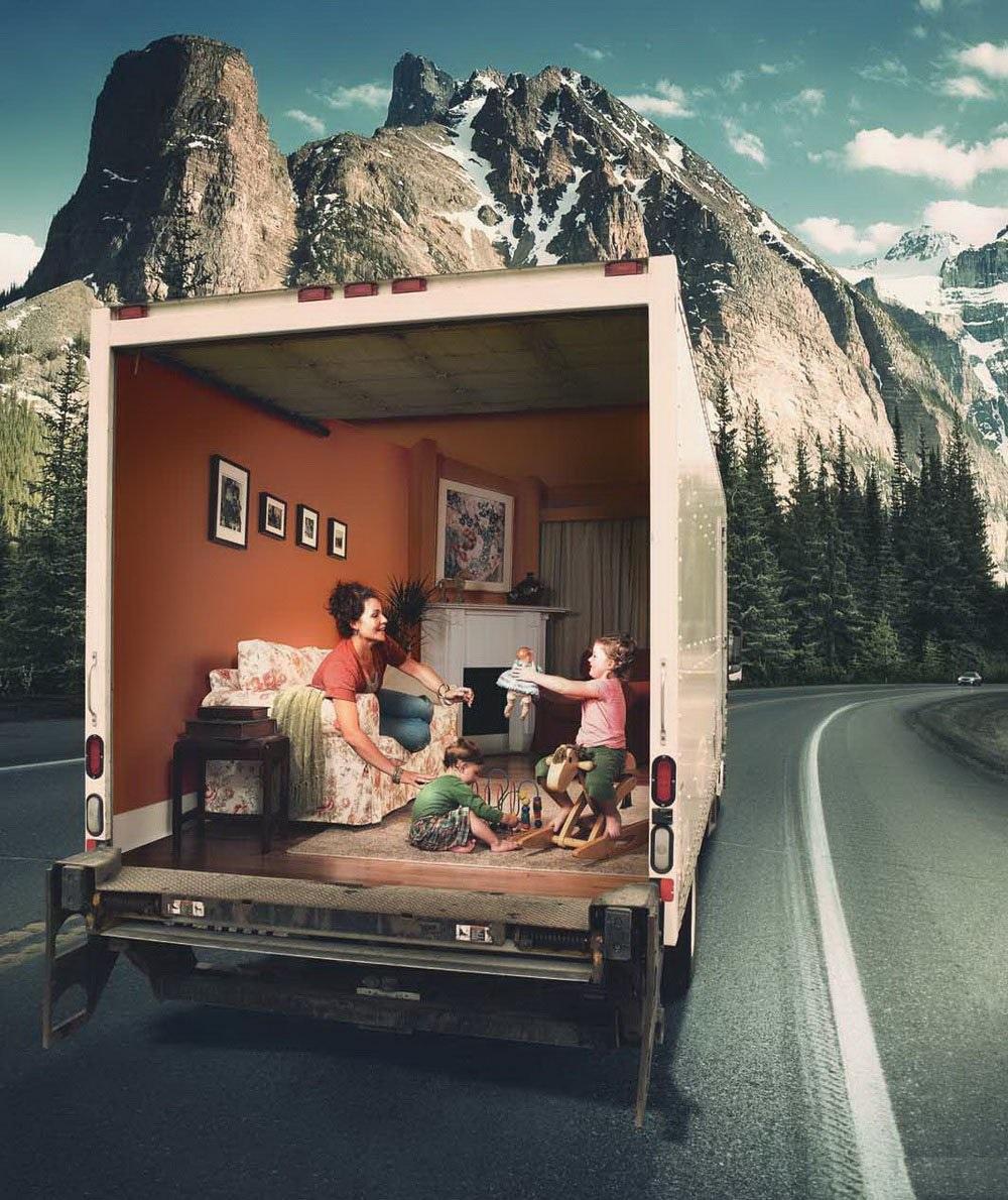 необычная реклама утеплителя фото бисера денежное дерево