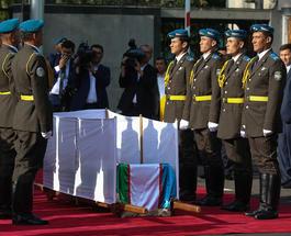 В Самарканде прощаются с президентом Исламом Каримовым