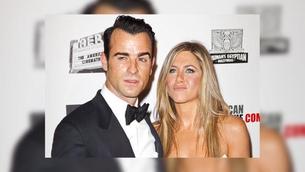 Дженнифер Энистон ссорится ссупругом из-за его бывшей