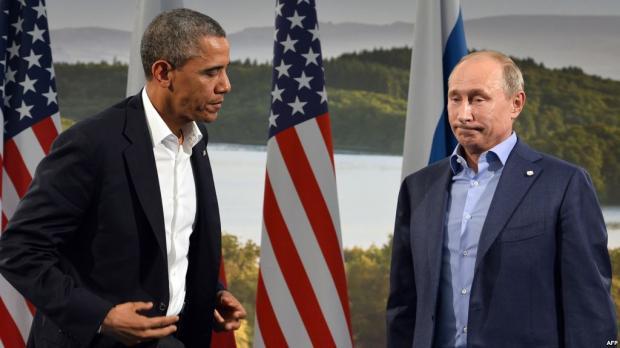 Путин иОбама обсудили государство Украину иСирию