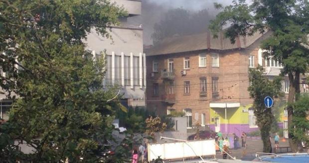 Милиция отпустила задержанных заподжог здания канала «Интер»
