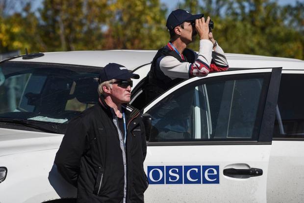 ОБСЕ пожаловалось накражу иразрушение камер наблюдения вДонецке