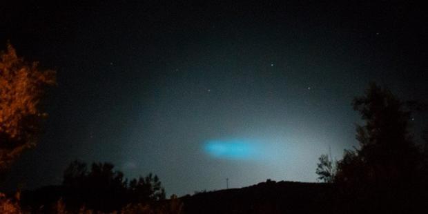 Граждан Кипра напугал взорвавшийся внебе метеорит