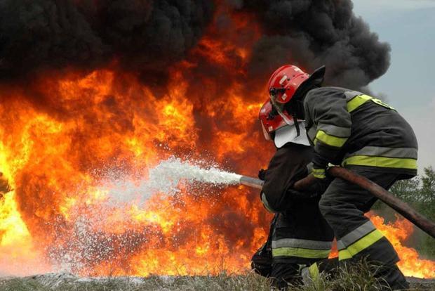 Насамом огромном кладбище государства Украины произошел пожар