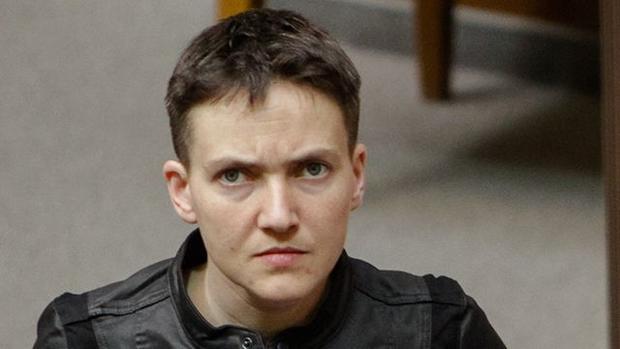 Надежда Савченко непострадала впроцессе ночного ДТП
