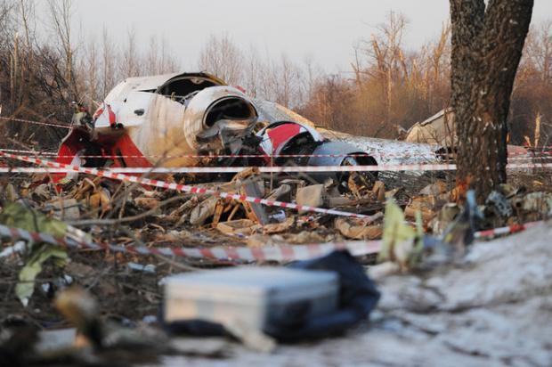 Фото В Польше эксгумируют тела погибших в авиакатастрофе под Смоленском