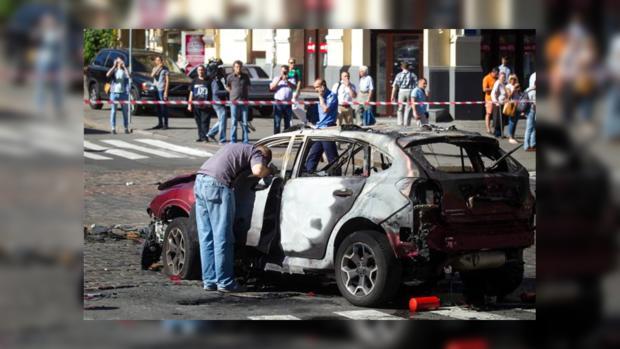Полиция нашла место расположения подрывника автомобиля Шеремета