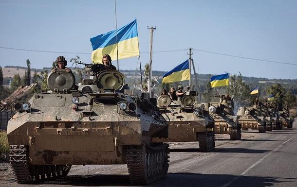 Процесс возведения новоиспеченной армии является первым приоритетом— Порошенко