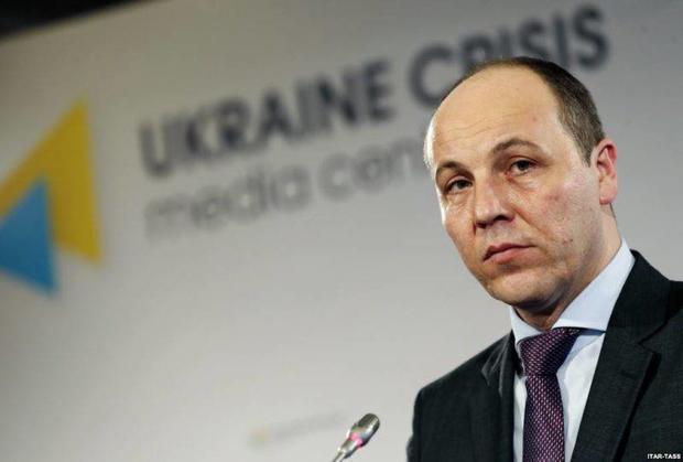 Парубий проинформировал, когда Европарламент решит вопрос безвиза для Украинского государства