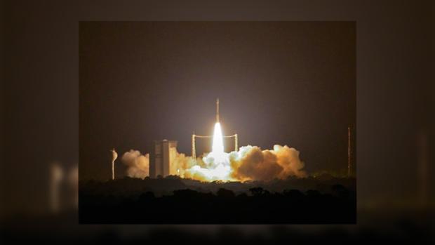 Ракета Vega вывела наорбиту спутники для составления 3D-модели Земли
