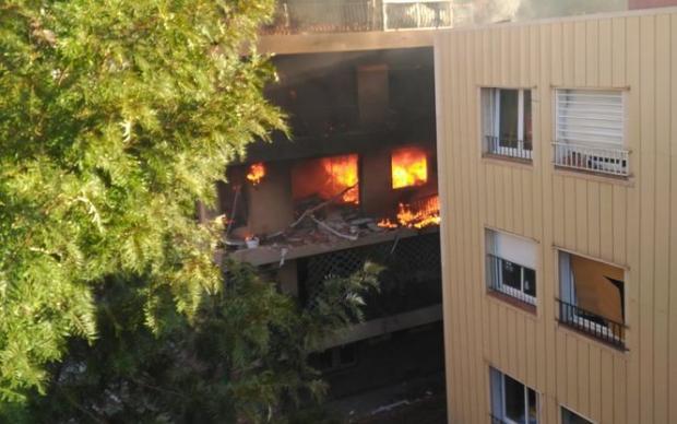Водном изжилых домов Барселоны прогремел мощнейший взрыв
