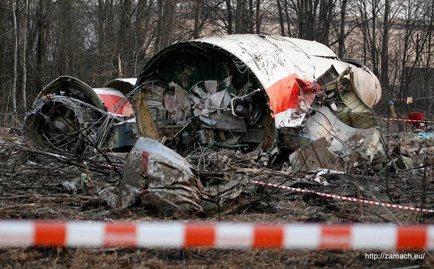 ВПольше создадут модель самолета Леха Качиньского