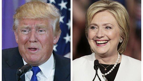 Клинтон опережает Трампа попопулярности— Опрос