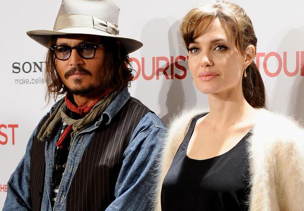Развод сближает: Джонни Депп неожиданно показал интерес кАнджелине Джоли