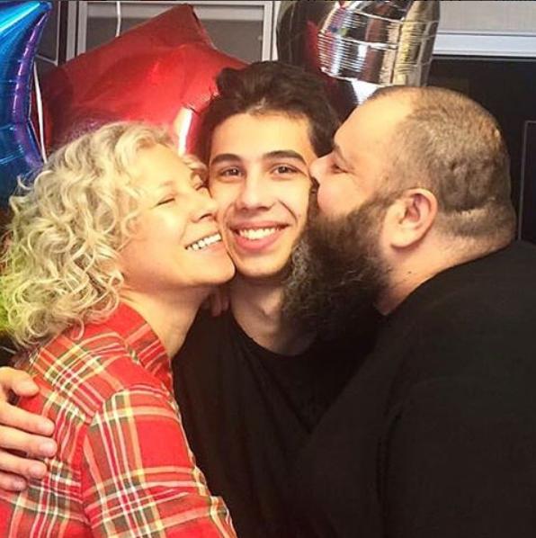 Макс Фадеев трогательно поздравил своего сына с19-летием