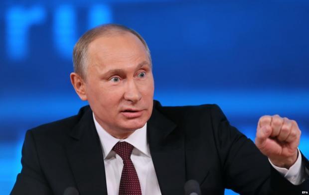 Работу В.Путина напосту президента одобрили 82% опрошенных граждан России