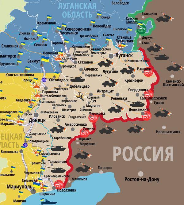 Тука допускает исключение Станицы Луганской изсписка разведения сторон наДонбассе