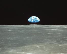 Восход Земли: опубликовано уникальное видео с Луны