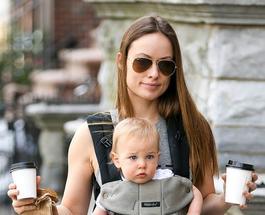 Оливия Уайлд похвасталась фото новорожденной дочери