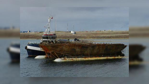 ВАрктике ученые подняли содна моря корабль знаменитого путешественника Амундсена