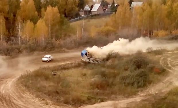 Омские следователи ведут проверку пофакту смерти судьи на автомобильных гонках