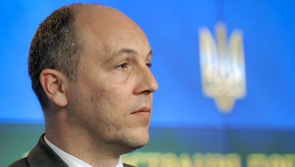 Парубий призвал международные организации отреагировать назадержание Сущенко