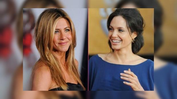 Анджелина Джоли втягивает Энистон вконфликт сБрэдом Питтом
