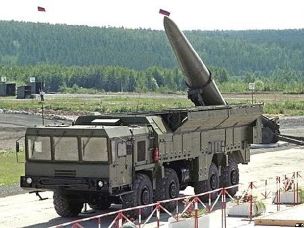 Российская Федерация ввиде учений перебросила вКалининград ракетный комплекс