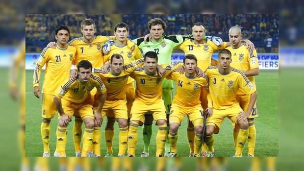 Букмекеры считают сборную Украины очевидным фаворитом матча сКосово