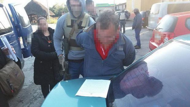 СБУ: ВРовно схвачен русский шпион