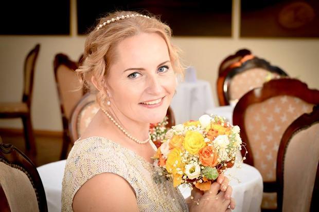 Жительница Эстонии вышла засебя замуж