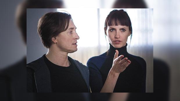 Сергей Безруков иАнна Матисон начали брать насъемки трехмесячную дочь