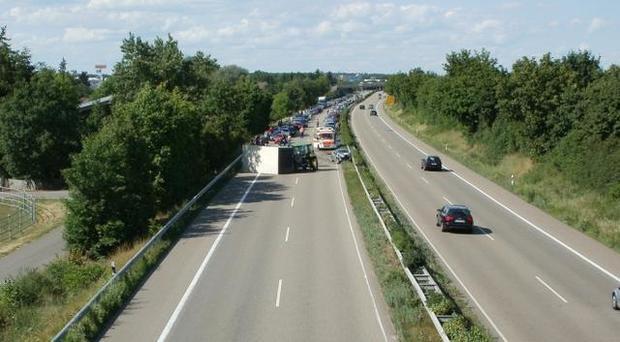 ДТП сукраинским микроавтобусом вПольше, большое количество пострадавших
