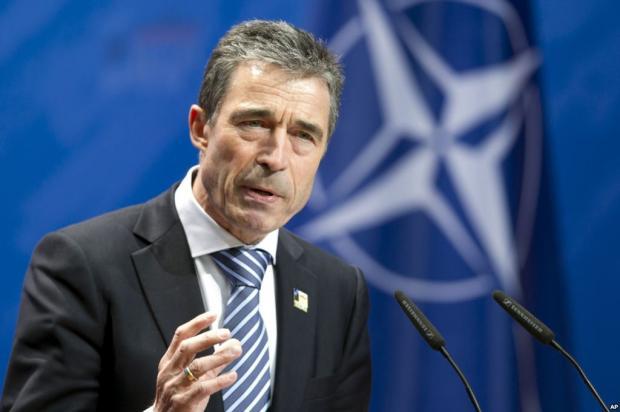 Прошлый генеральный секретарь НАТО призвалЕС продлить санкции против РФ нагод
