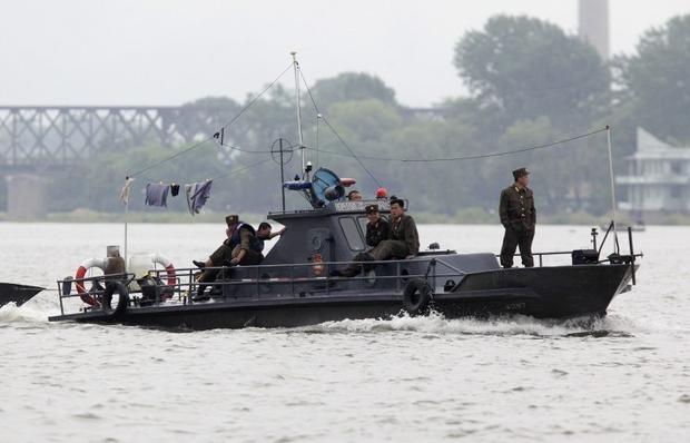 Таможенники  РФрасстреляли северокорейское судно