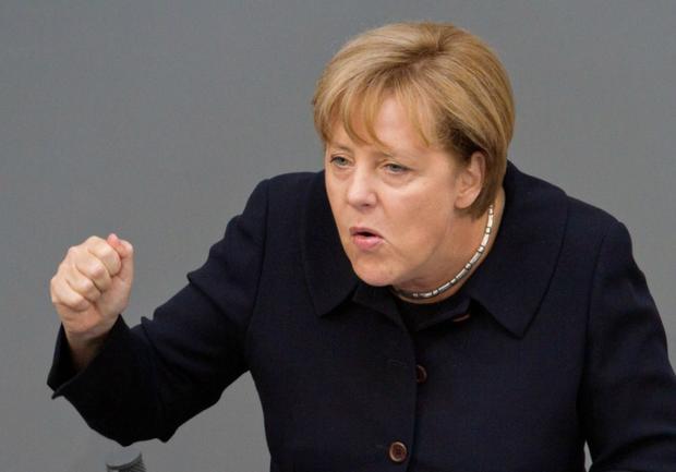Меркель сообщила онамерении достаточно серьезно увеличить расходы наоборону