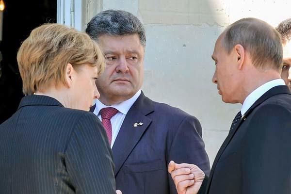 Выступление Порошенко вызвало бурную реакцию главаря боевиков Захарченко