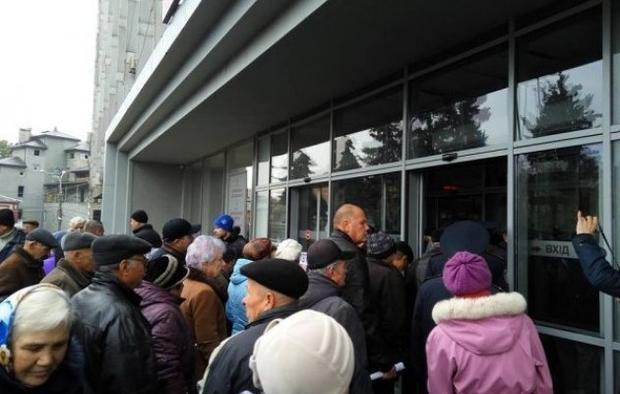 Тарифный геноцид: Протестующие вВиннице штурмом вторглись вмэрию