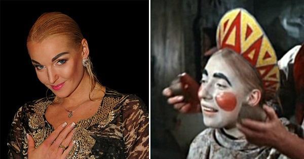 Анастасия Волочкова и Марфушенька