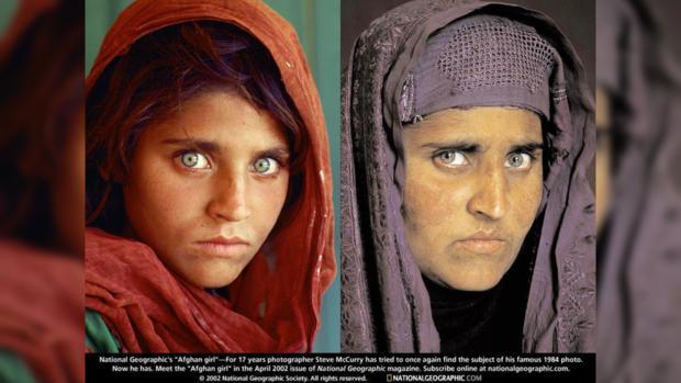 «Зеленоглазую афганскую девочку» собложки «National Geographic» освободили под залог