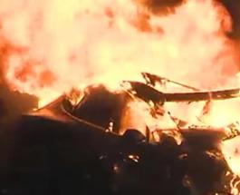 В автомобиле Tesla заживо сгорел экс-агент ФБР