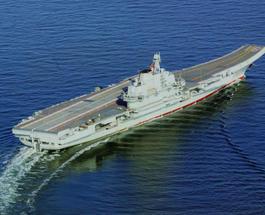 Бывший украинский авианосец «Варяг» стал китайским боевым кораблем «Ляонин»