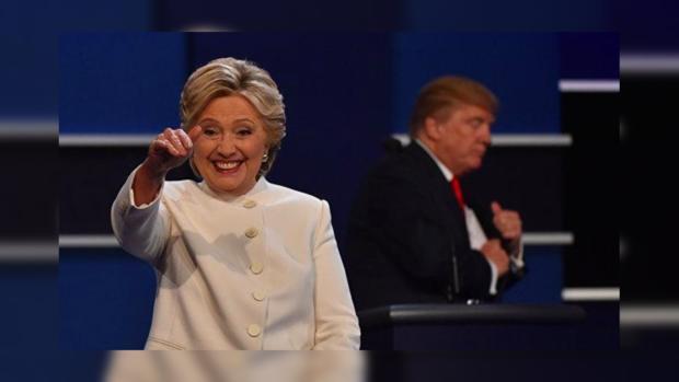 Клинтон уже заказала салют вчесть собственной победы