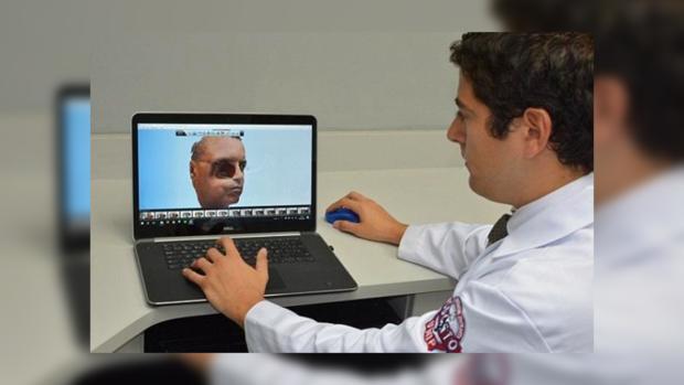 Первому человеку вмире создали лицо с употреблением 3D-печати