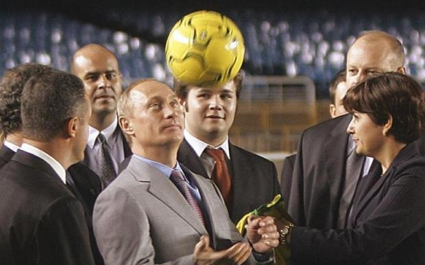 «Оказывается, футбол в РФ жив»— Владимир Путин